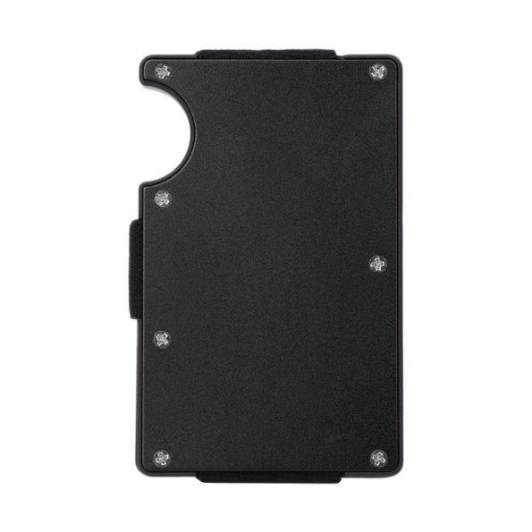 Slim Stainless Steel Aluminum Credit Card Holder